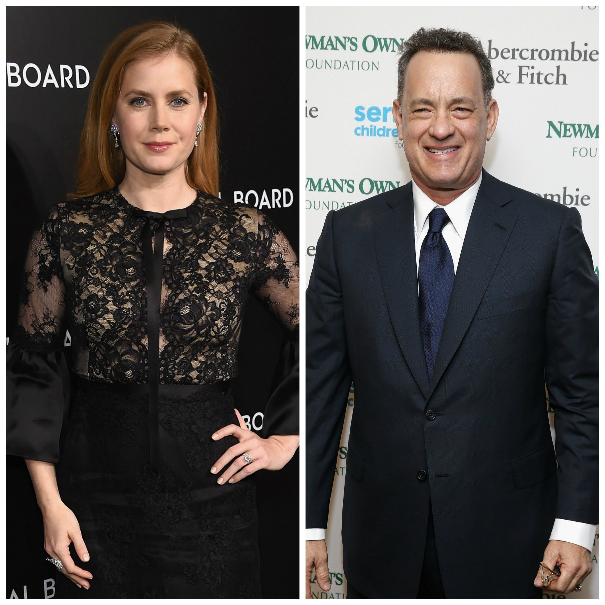 Amy Adams and Tom Hanks