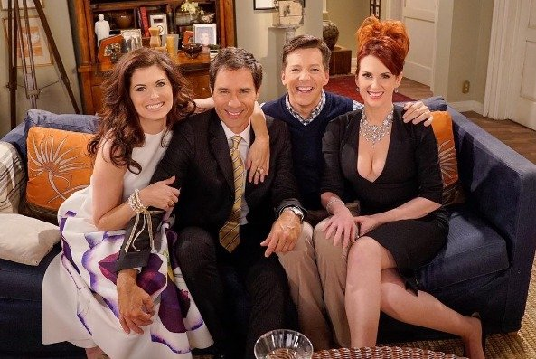 The cast of 'Will & Grace' reunites in September 2016