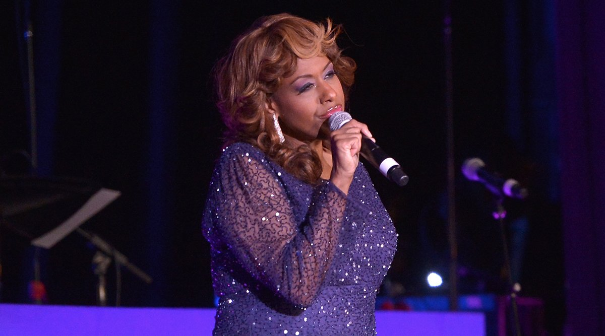 Jennifer Holliday performs at Jackie Robinson Foundation 2014 Awards Dinner at Waldorf Astoria Hotel on March 3, 2014 in New York City