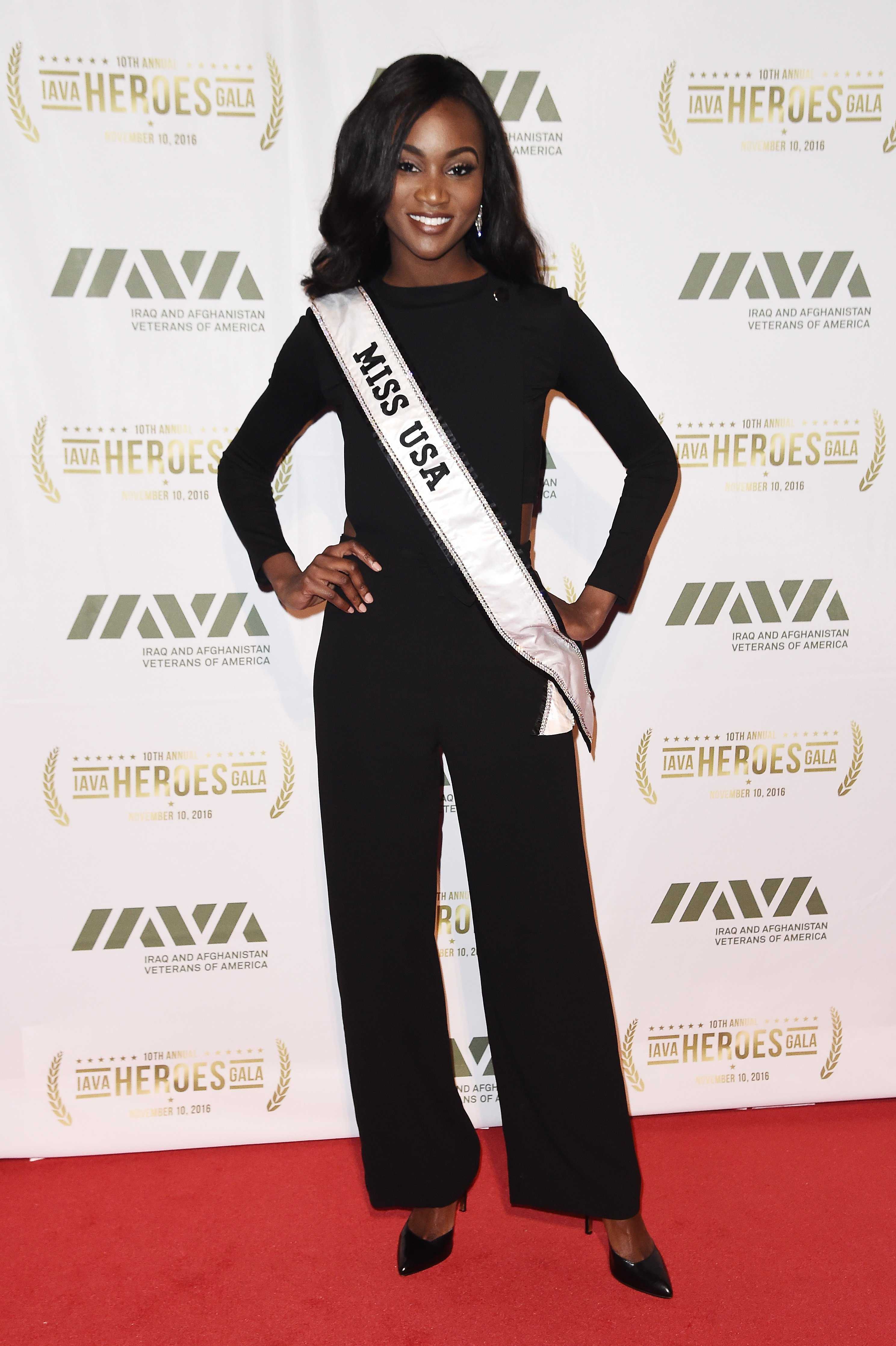 Miss USA 2016 Deshauna Barber attends the 2016 IAVA Heroes Gala at Cipriani 42nd Street on November 10, 2016 in New York City