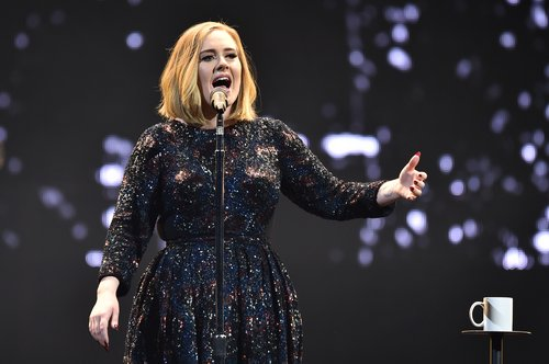 Adele performs on stage at the SSE Arena Belfast on February 29, 2016 in Belfast, Northern Ireland