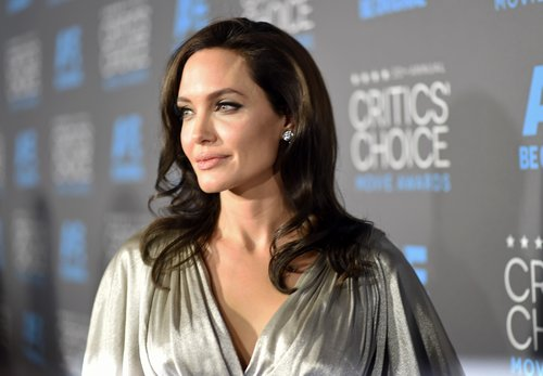 Angelina Jolie attends the 20th annual Critics' Choice Movie Awards at the Hollywood Palladium on January 15, 2015 in Los Angeles