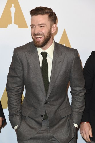 Justin Timberlake attends the 89th Annual Academy Awards Nominee Luncheon at The Beverly Hilton Hotel on February 6, 2017 in Beverly Hills