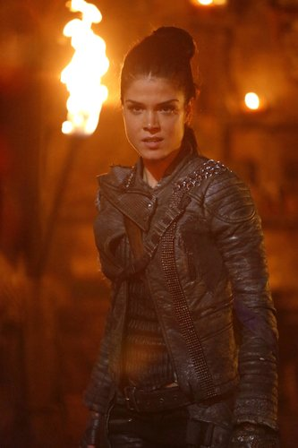 Marie Avgeropoulos as Octavia in 'The 100' Season 4, Episode 3 -- 'The Four Horsemen'