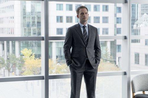 Patrick J. Adams as Mike Ross in 'Suits'