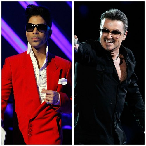 Prince and George Michael