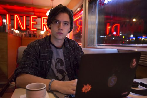 Cole Sprouse as Jughead in The CW's 'Riverdale'