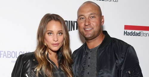 Hannah Jeter and Derek Jeter attend BKLYN Rocks presented by City Point, Kids Foot Locker, and Haddad Brands at City Point on November 9, 2016 in Brooklyn City
