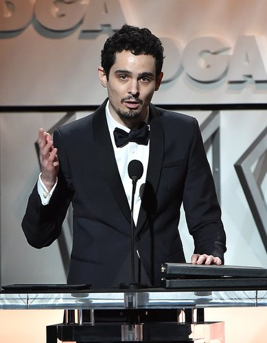 Damien Chazelle speaks onstage during the 69th Annual Directors Guild of America Awards at the Beverly Hilton Hotel on February 4, 2017 in Beverly Hills