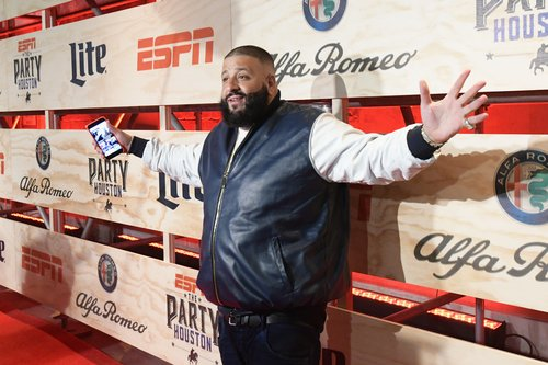 DJ Khaled attends the 13th Annual ESPN The Party on February 3, 2017 in Houston