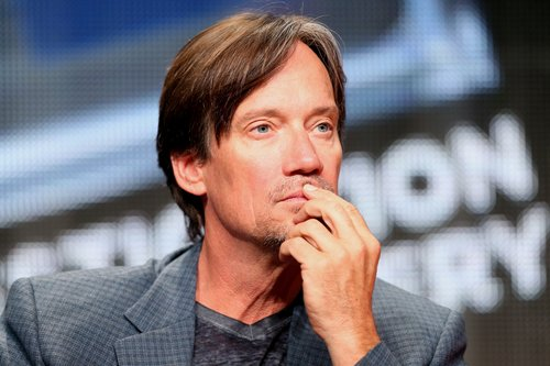 Kevin Sorbo speaks onstage at the 'Heartbreakers' panel during the Discovery Communications portion of the 2014 Summer Television Critics Association at The Beverly Hilton Hotel on July 9, 2014 in Beverly Hills