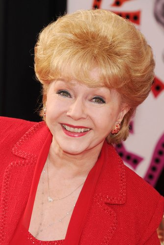 Debbie Reynolds attends the World Premiere of 40th Anniversary Restoration of 'Cabaret' at Grauman's Chinese Theatre, Los Angeles, on April 12, 2012