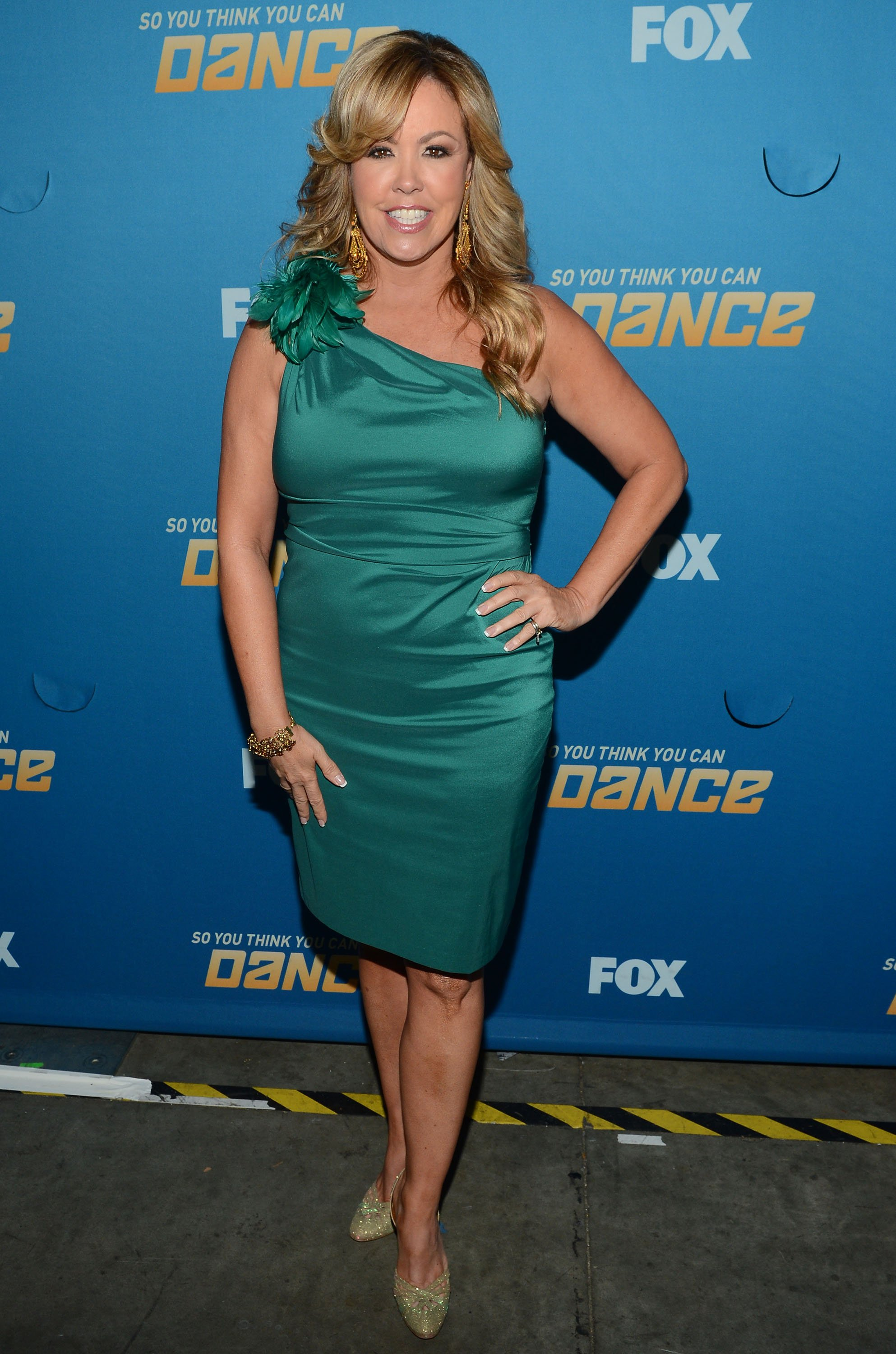 Mary Murphy poses at the 200th episode celebration for 'So You Think You Can Dance' at CBS Television City on June 25, 2012 in Los Angeles