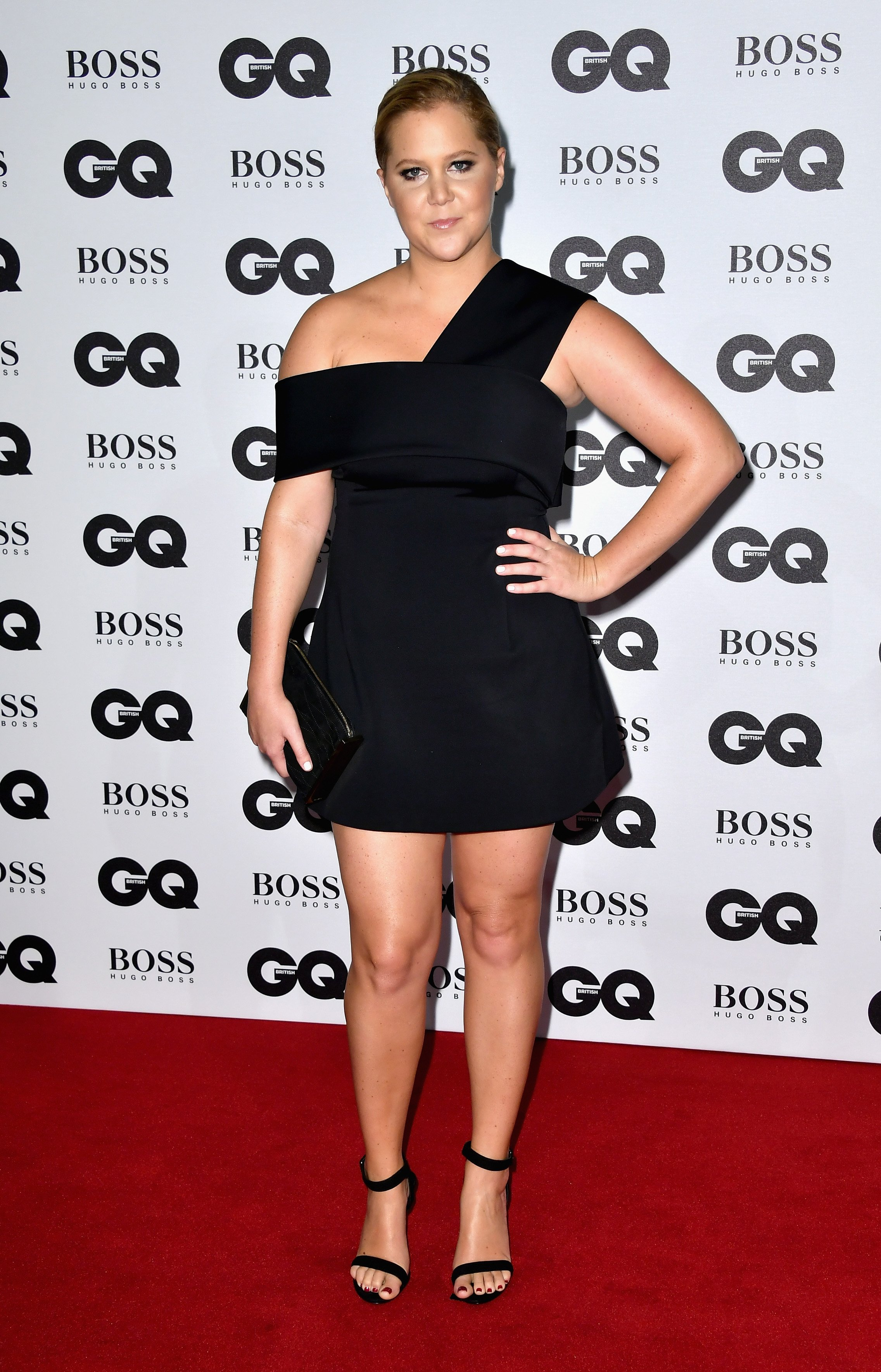 Amy Schumer arrives for GQ Men Of The Year Awards 2016 at Tate Modern on September 6, 2016 in London, England.