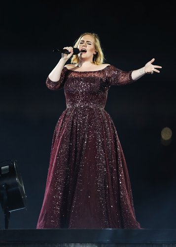 Adele performs at ANZ Stadium on March 10, 2017 in Sydney