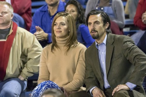 Mandy Moore as Rebecca and Milo Ventimiglia as Jack in 'This Is Us'
