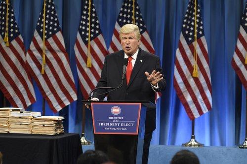 Alec Baldwin as Trump on 'SNL'