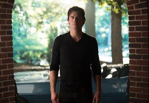 Ian Somerhalder as Damon Salvatore in 'The Vampire Diaries' series finale -- 'I Was Feeling Epic'