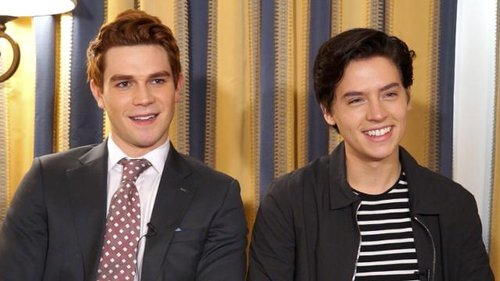 'Riverdale': KJ Apa & Cole Sprouse On Archie's Hair & Jughead's Hat