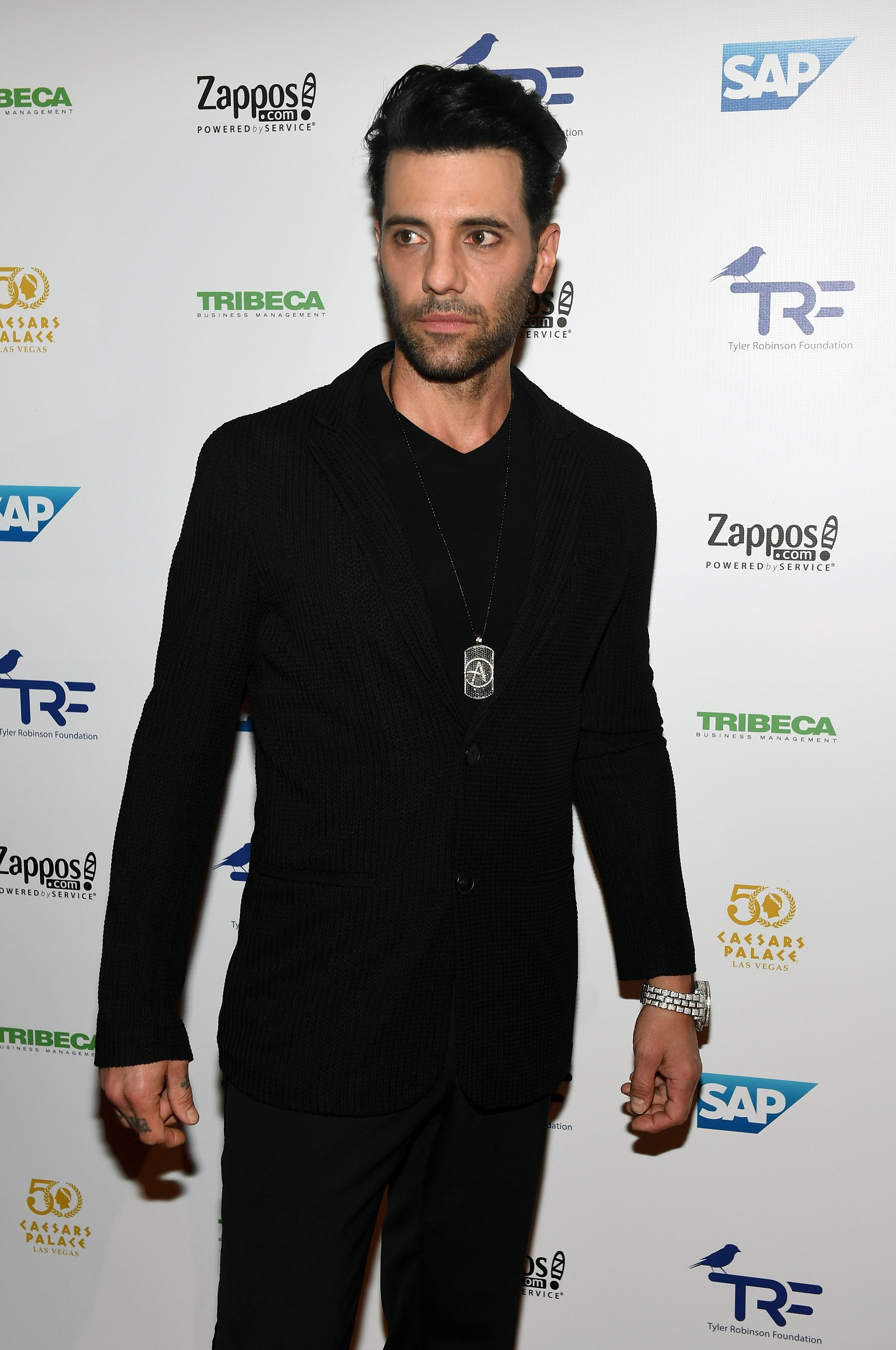 Criss Angel attends the third annual Tyler Robinson Foundation gala benefiting families affected by pediatric cancer at Caesars Palace on September 30, 2016 in Las Vegas