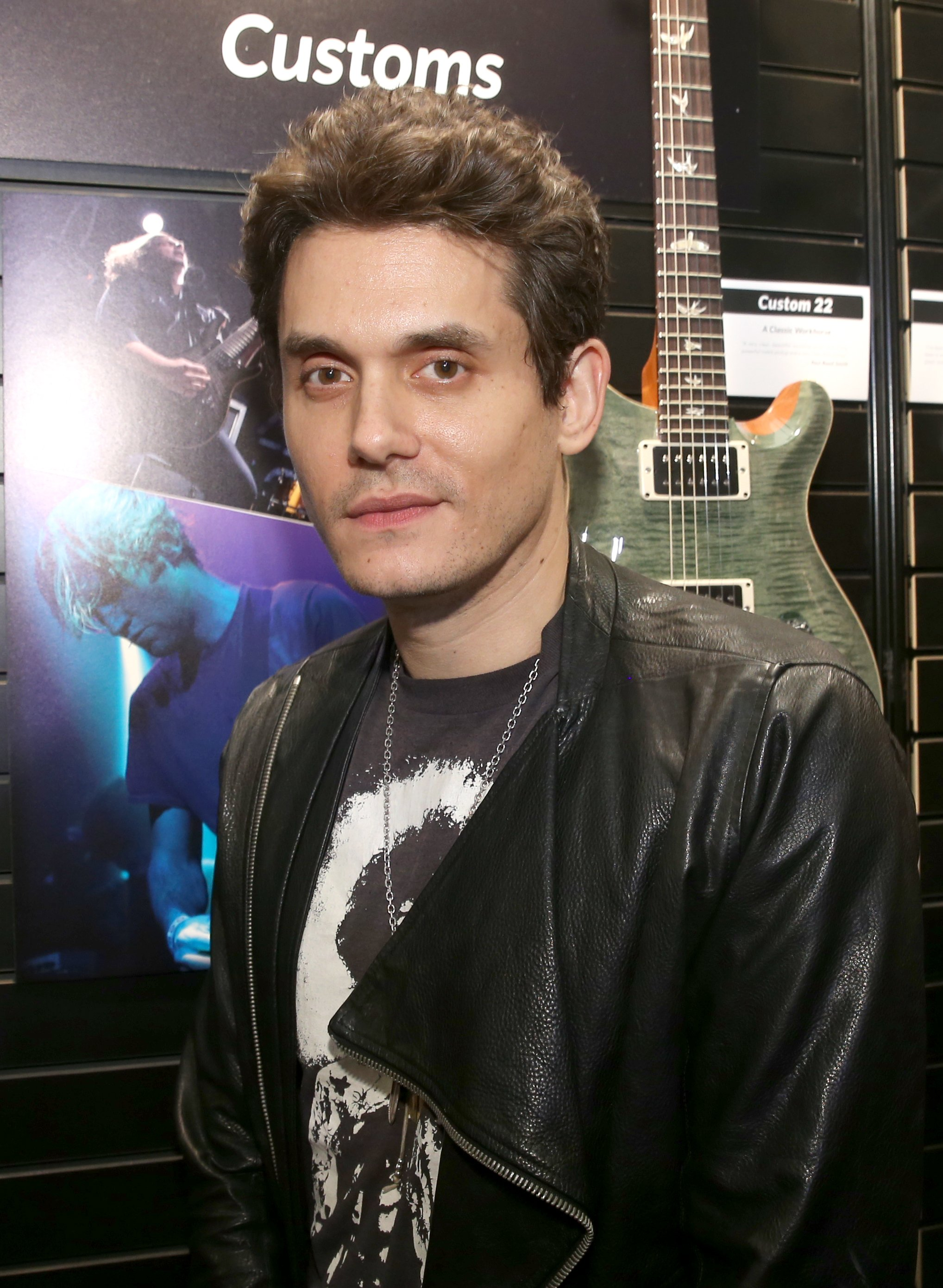 John Mayer attends the 2017 NAMM Show at the Anaheim Convention Center on January 20, 2017 in Anaheim