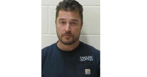 Chris Soules mugshot from April 25, 2017