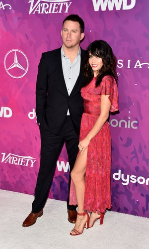 Channing Tatum and Jenna Dewan Tatum attend the 2nd Annual StyleMaker Awards hosted by Variety and WWD at Quixote Studios West Hollywood on November 17, 2016 in West Hollywood