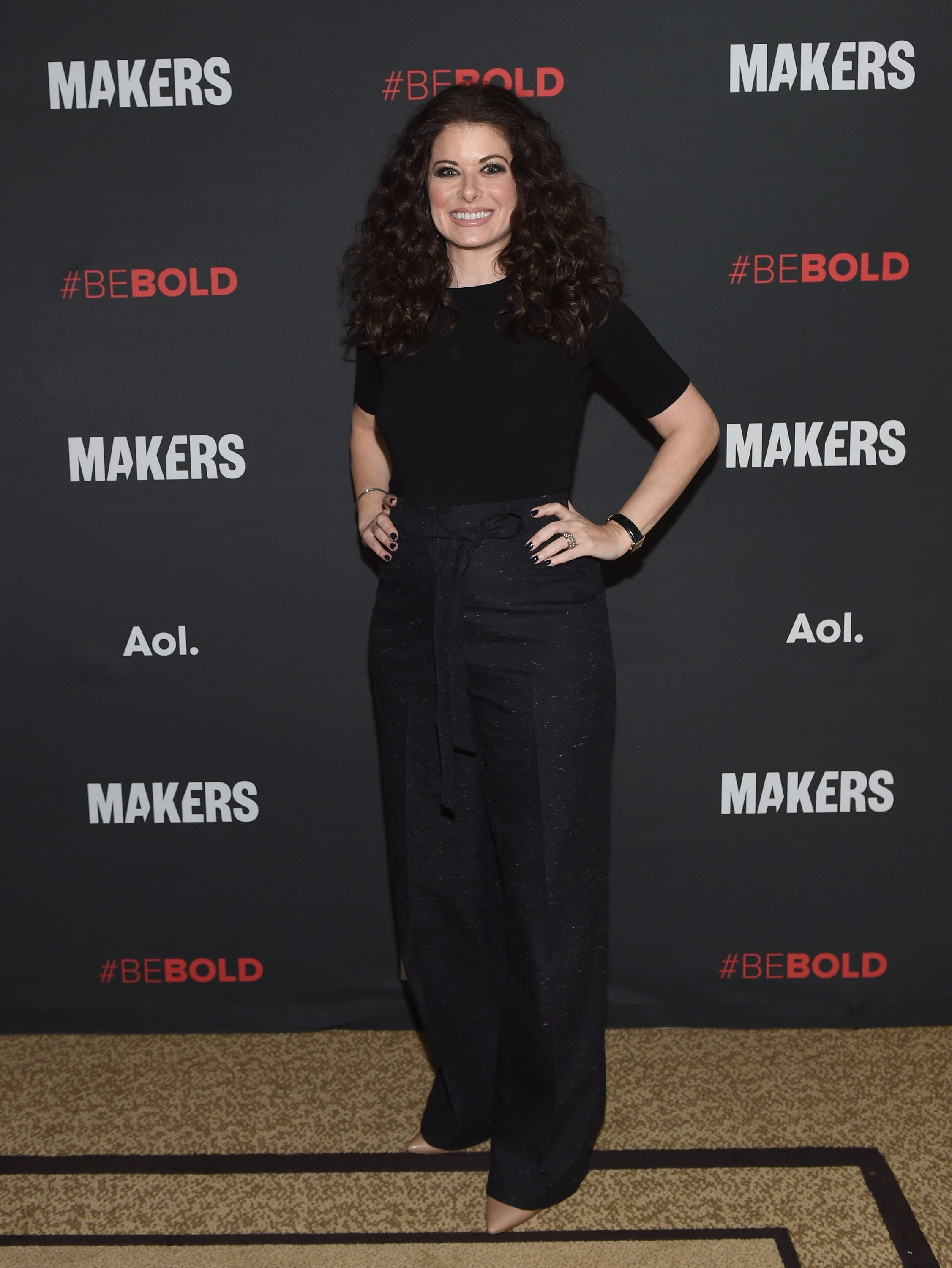 Debra Messing attends the 2017 MAKERS Conference Day 1 at Terranea Resort on February 6, 2017 in Rancho Palos Verdes, Calif.