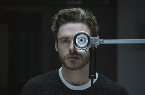 Richard Madden in the pilot for 'Oasis' from Amazon Studios and Left Bank Productions