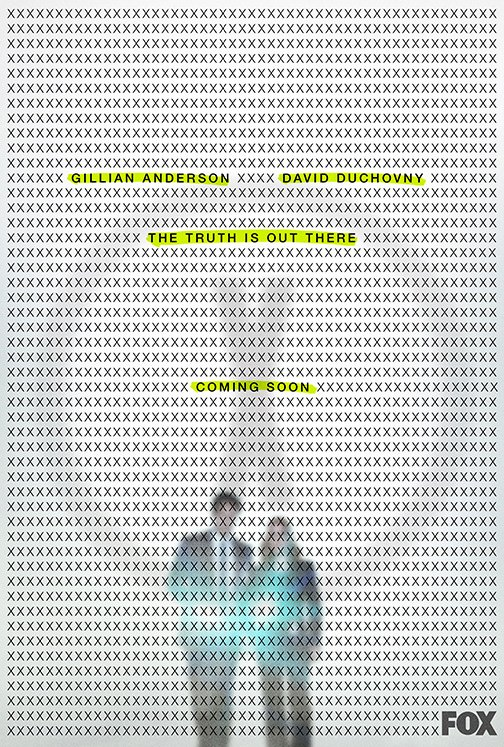 A new image promoting the second 'The X-Files' event series on Fox