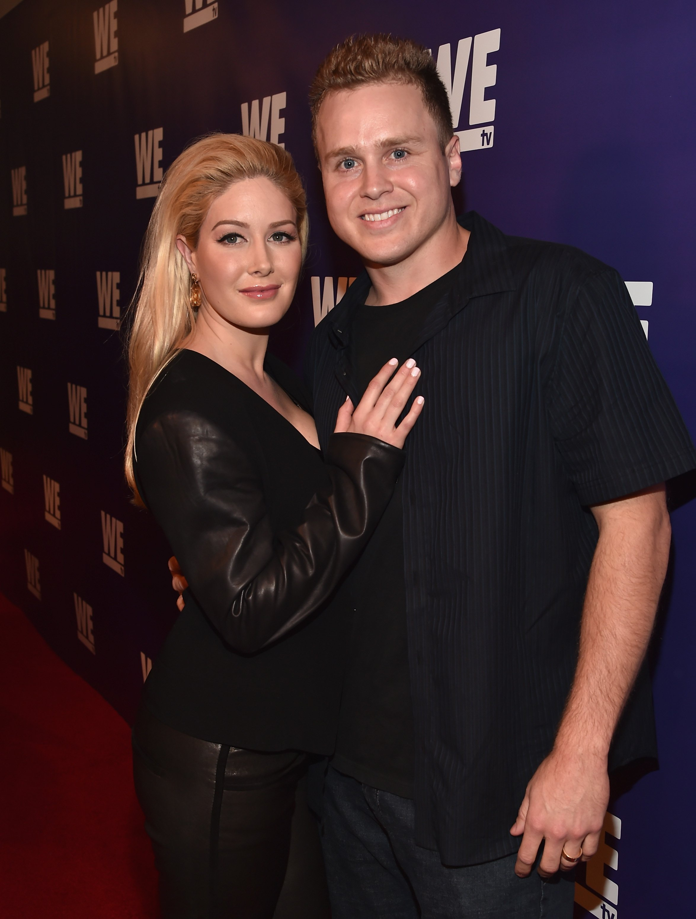 Spencer Pratt and Heidi Montag attend the WE tv presents 'The Evolution of The Relationship Reality Show' at The Paley Center for Media on March 19, 2015 in Beverly Hills
