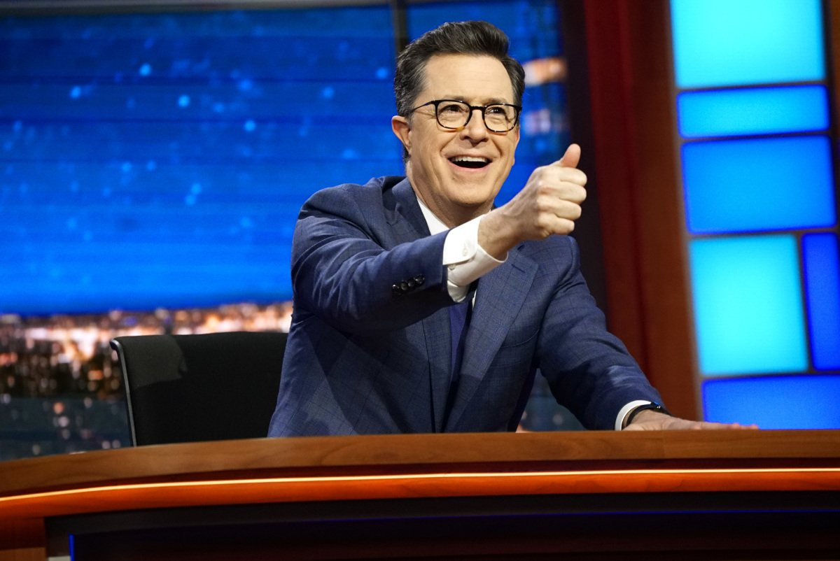 Stephen Colbert on 'The Late Show with Stephen Colbert,' March 27, 2017