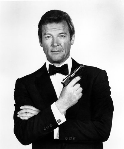 Roger Moore as James Bond, 1970