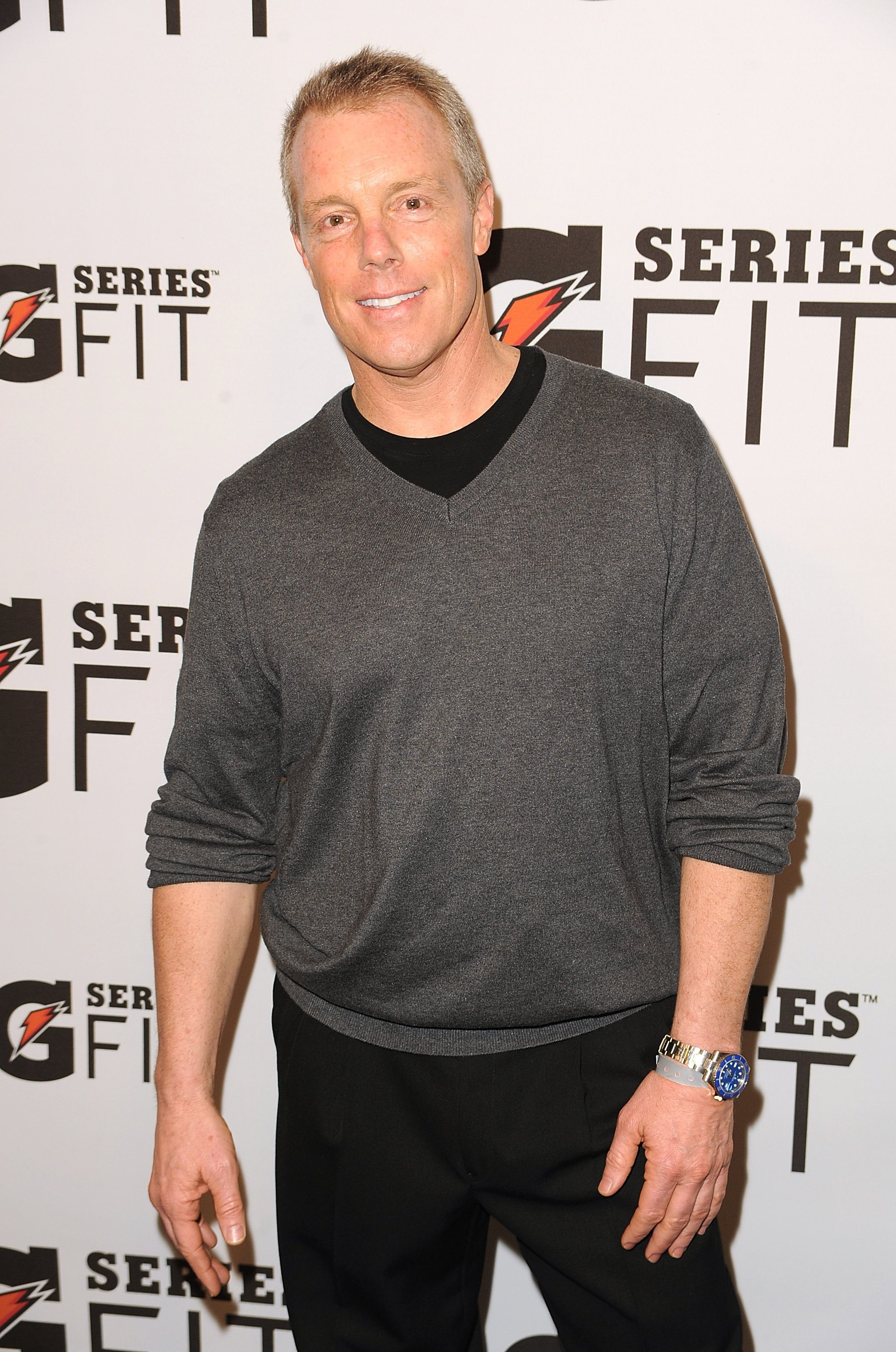 Gunnar Peterson arrives at Gatorade's 'G Series Fit' Launch Party at the SLS Hotel on April 12, 2011 in Los Angeles