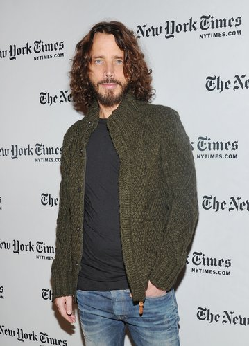 Chris Cornell attends a New York Times Times Talk at The Times Center on January 7, 2012 in New York City