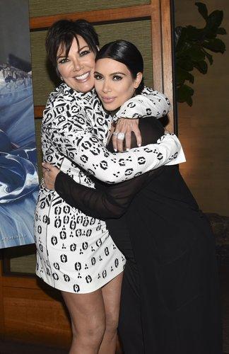 Kris Jenner and Kim Kardashian West attend Westime Celebrates Kris Jenner's Haute Living Cover at Nobu Malibu on August 24, 2015 in Malibu