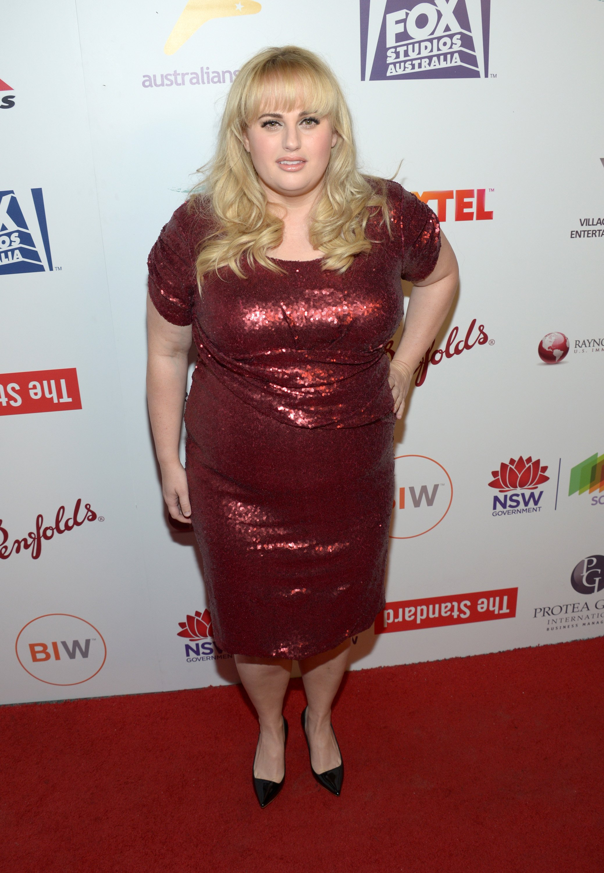 Rebel Wilson attends Australians In Film's 5th Annual Awards Gala at NeueHouse Hollywood on October 19, 2016 in Los Angeles