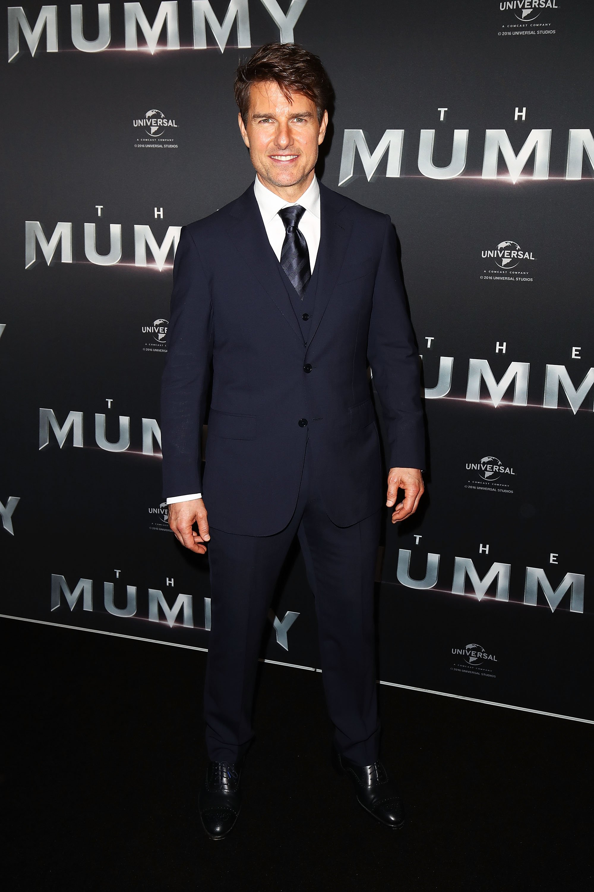 Tom Cruise arrives ahead of 'The Mummy' Australian premiere at State Theatre on May 22, 2017 in Sydney