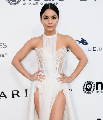 Vanessa Hudgens attends the 25th Annual Elton John AIDS Foundation's Academy Awards Viewing Party at The City of West Hollywood Park on February 26, 2017 in West Hollywood