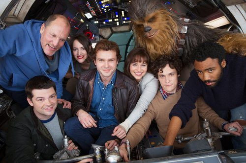 The cast (and directors) of the upcoming Han Solo 'Star Wars' film, 2017