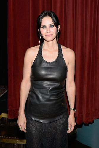 Courteney Cox attends the official after party for her directorial debut 'Just Before I Go' on April 24, 2014 in New York City