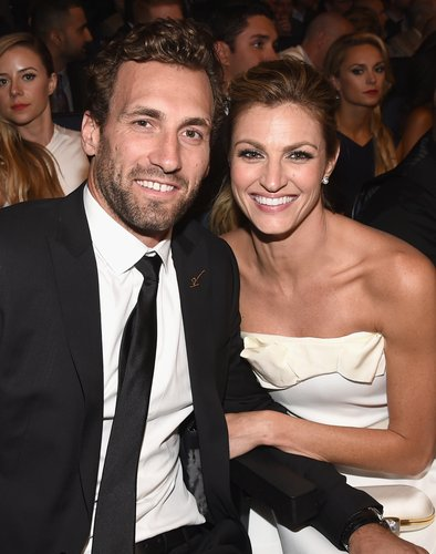 Jarrett Stoll and Erin Andrews attend The 2014 ESPYS at Nokia Theatre on July 16, 2014 in Los Angeles