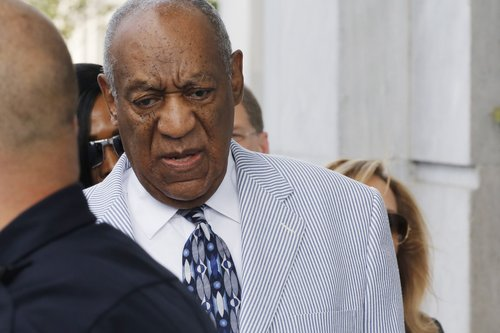 Bill Cosby arrives at the Montgomery County Courthouse for a pretrial conference related to aggravated indecent assault charges on September 6, 2016, in Norristown, Penn.