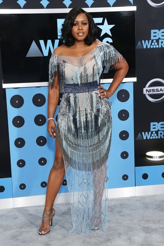 Remy Ma arrives at the 2017 BET Awards at Microsoft Theater on June 25, 2017 in Los Angeles