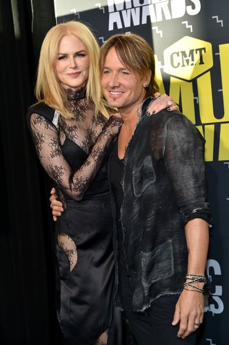 Nicole Kidman and Keith Urban attend the 2017 CMT Music Awards at the Music City Center on June 7, 2017 in Nashville