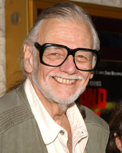 George A. Romero is seen during the 'Land of the Dead' Los Angeles Premiere at National Theatre in Westwood, Calif., on June 20, 2005