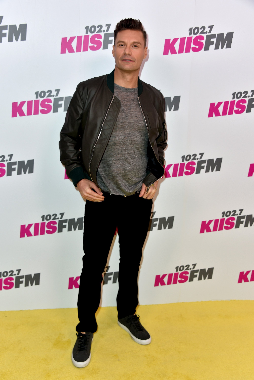 Ryan Seacrest attends 102.7 KIIS FM's 2017 Wango Tango at StubHub Center on May 13, 2017 in Carson, Calif.
