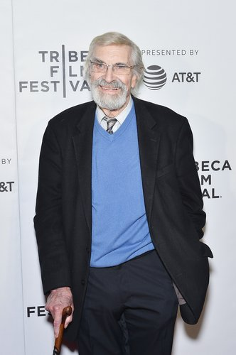 Martin Landau attends the 'The Last Poker Game' premiere at the Tribeca Film Festival at Regal Battery Park Cinemas on April 24, 2017 in New York City
