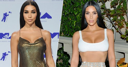 Chantel Jeffries Looked Almost Identical to Kim Kardashian at the 2017 MTV VMAs