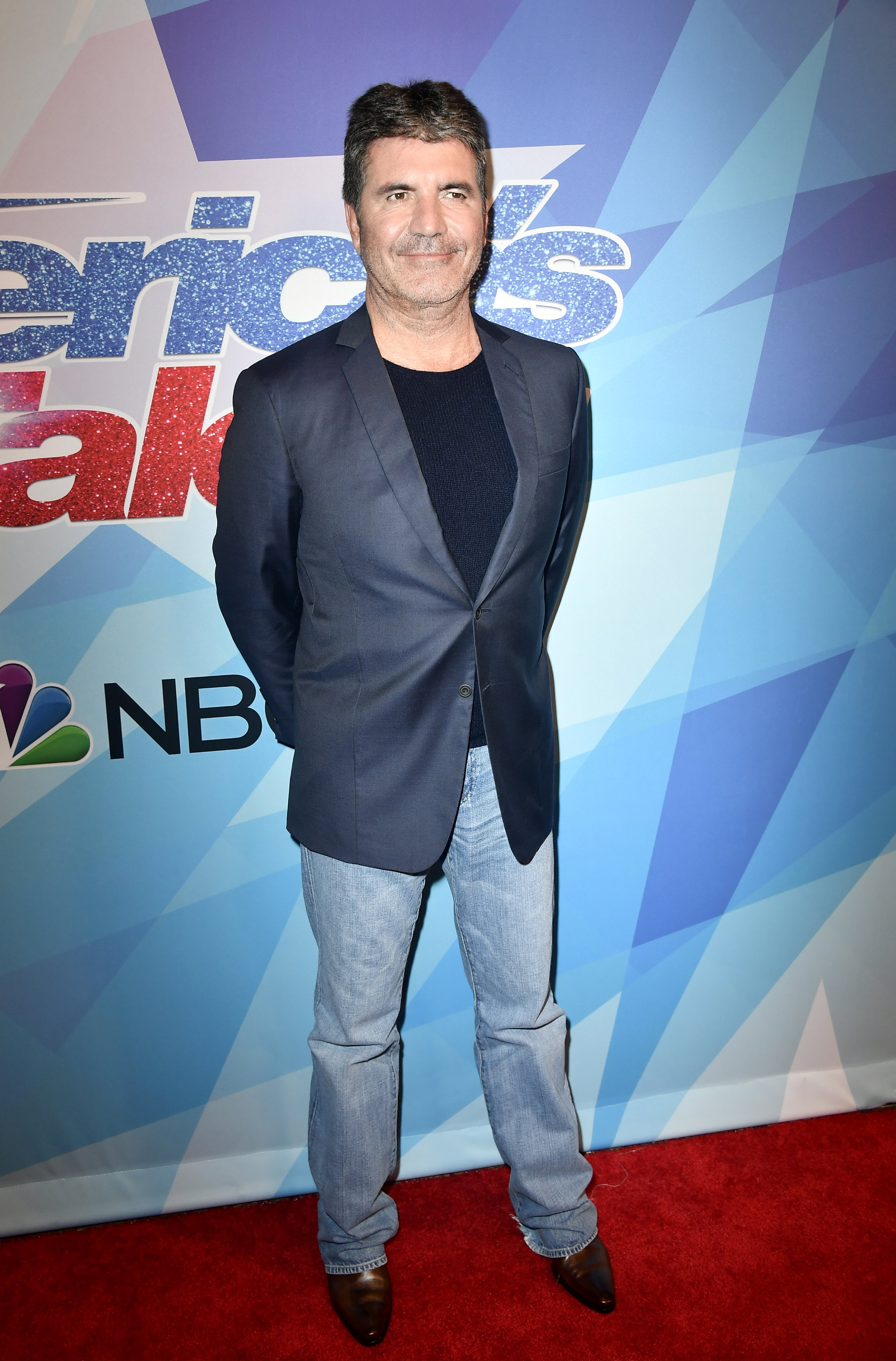 Simon Cowell attends the Premiere Of NBC's 'America's Got Talent' Season 12 at Dolby Theatre on August 15, 2017 in Los Angeles